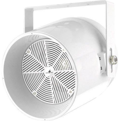 Głośnik sufitowy PA Monacor EDL-250/WS, 101 dB, Moc RMS: 30 W, 125 - 15 000 Hz, 100 V, Kolor: biały, 1 szt. (głośnik, monitor odsłuchowy)