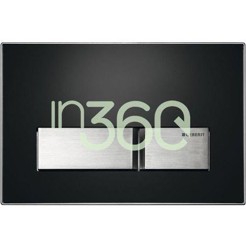 Geberit Sigma50 Przycisk uruchamiający, przedni, szkło umbra 115.788.SQ.5