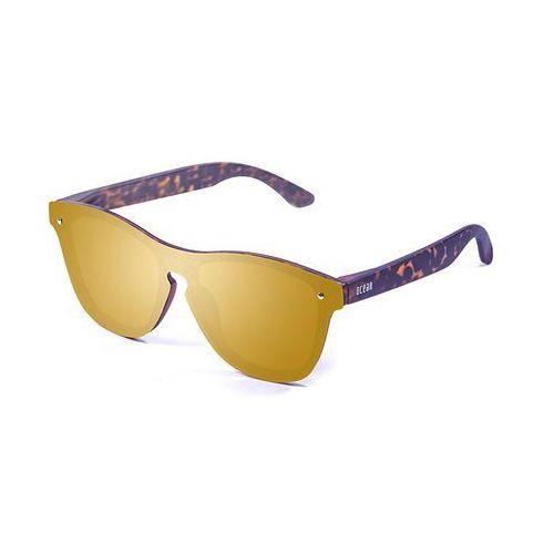 Okulary przeciwsłoneczne unisex 40003-11_socoa złote marki Ocean sunglasses