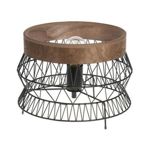 Lampa stołowa MANAM czarna E27 INSPIRE