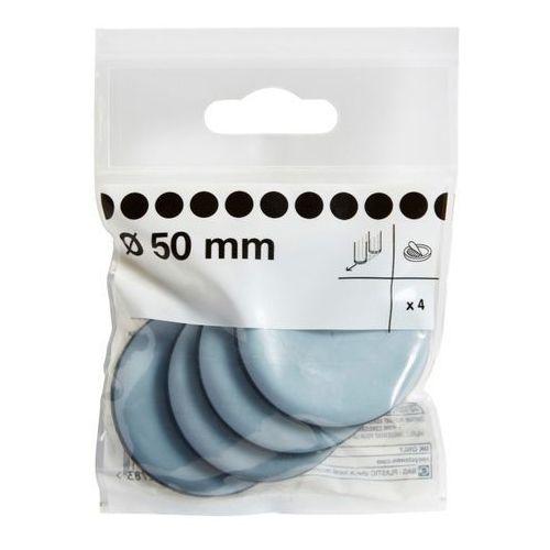 Podkładki teflonowe samoprzylepne Diall 50 mm 4 szt. (3663602992783)