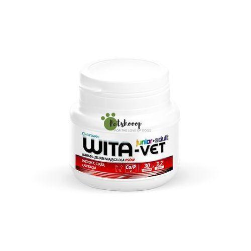 Wita-Vet Junior+Adult CA/P=2 3,2g 30tabl. - preparat witaminowy dla ciężarnych suk i szczeniąt (5907785442009)