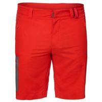 Spodenki ACTIVE TRACK SHORTS MEN - fiery red, kolor czerwony