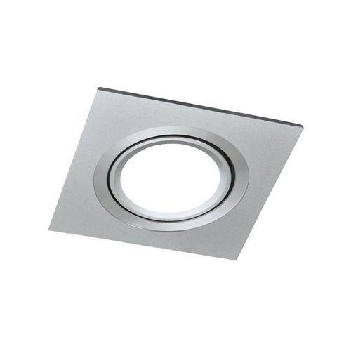Oprawa stropowa oczko south opal srebrna kwadratowa gu10 marki Polux
