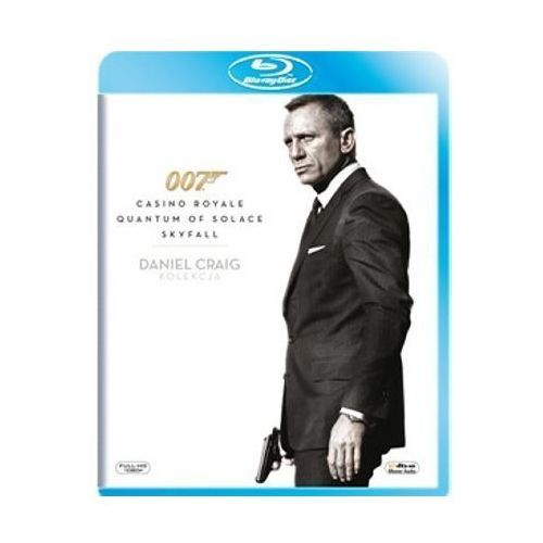 007 James Bond: Daniel Craig Collection - Casino Royale / Quantum of Solace / Skyfall (3 Blu-ray) (5903570069451)