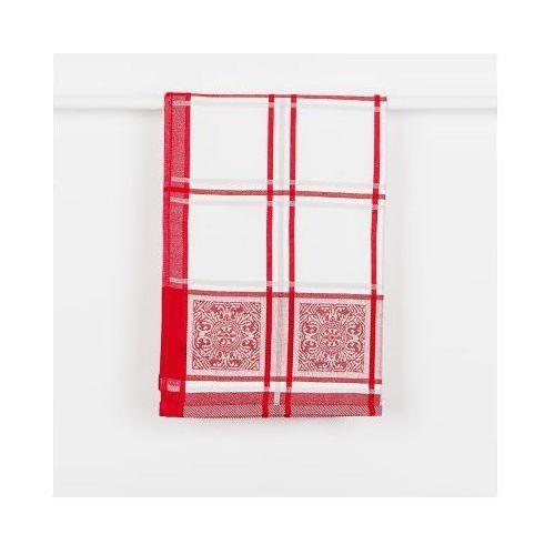 Ścierka kuchenna majolica kolor czerwony sjb005 majoli/skb/m24/050070/1 marki Markizeta
