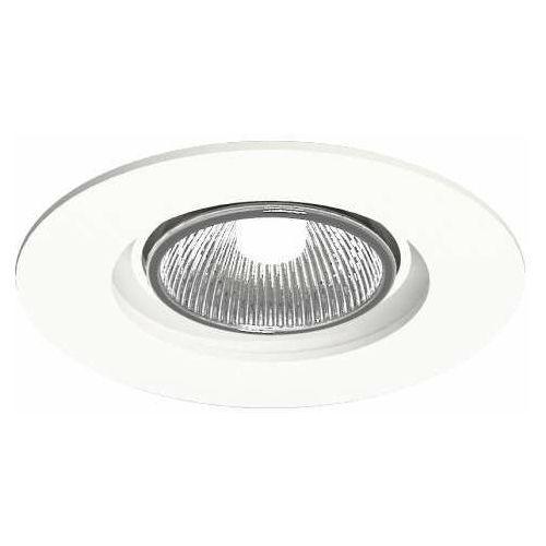 Shilo Oczko lampa sufitowa tokio 7383 podtynkowa oprawa ruchoma okrągła wpust biały (5903689973830)