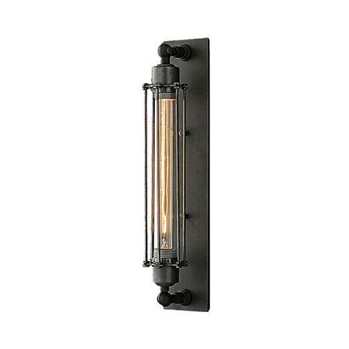 Kinkiet YORK - W01307BK - Cosmo Light - Rabat w koszyku (5902115960307)