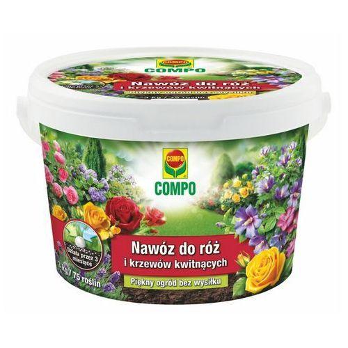 Nawóz róże długodziałający 3kg marki Compo