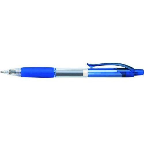 Długopis automatyczny żelowy cch3 0,5mm, niebieski marki Penac