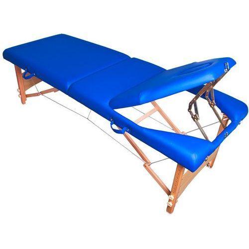 Stół składany do masażu komfort wood at-009b blue marki Activ