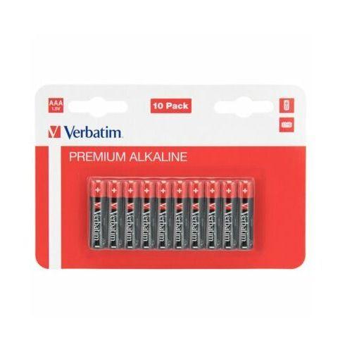 Baterie AAA LR03 VERBATIM Premium Alkaline (10 szt.)