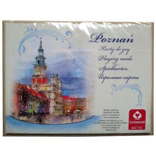 CARTAMUNDI Karty Poznań Akwarele 2x55 l. - Cartamundi (5901911001733)