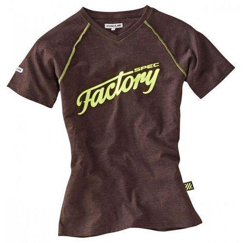 FOCUS Factory Spec Koszulka Mężczyźni brązowy L 2017 Koszulki (4000990258142)