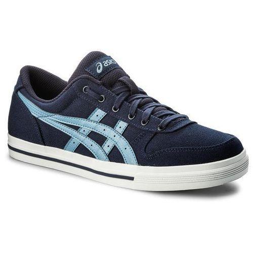 Sneakersy - aaron hn528 peacoat/ provincial blue 5842 marki Asics