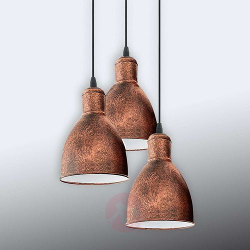 Lampa wisząca 3X60W E27 PRIDDY 1 49493 EGLO, kolor Silber