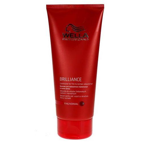 Wella Brilliance Odżywka do Cienkich Włosów Farbowanych (fine) - 200 ml, 2818