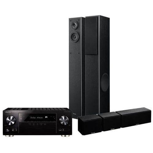 Pioneer Kino domowe vsx-832b + pioneer sesr2tb czarny