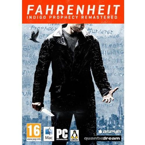 Fahrenheit Indigo Prophecy Remastered (PC)