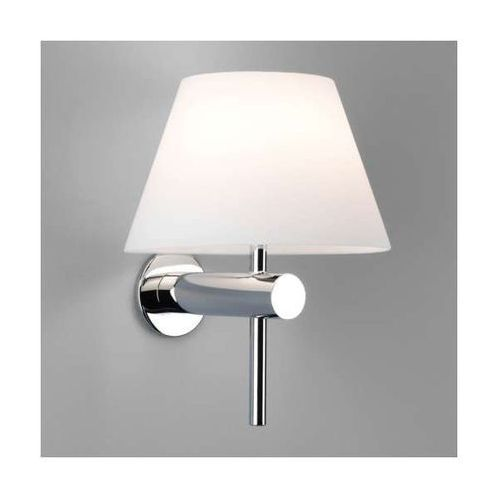 Kinkiet LAMPA ścienna ROMA 0343 Astro szklana OPRAWA do łazienki IP44 chrom biała z kategorii Lampy ścienne