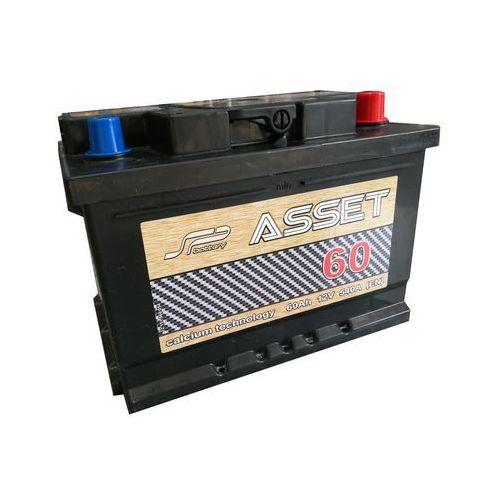 Akumulator Asset 12V 60 Ah / 540 A niska