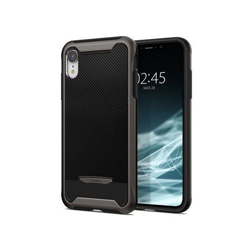 Etui Spigen Hybrid NX Apple iPhone Xr Gunmetal - Szary (8809613764246)