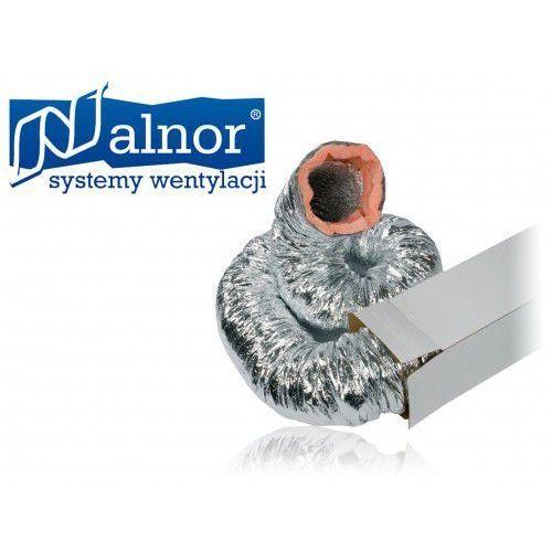 Przewód elastyczny wentylacyjny izolowany (10mb) 355mm do 250°c (alsd-3-355) marki Alnor