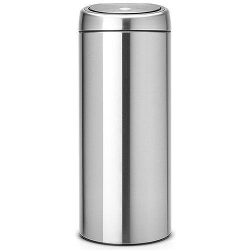 Kosz na śmieci 30 litrów touch bin stal szlachetna matowa marki Brabantia