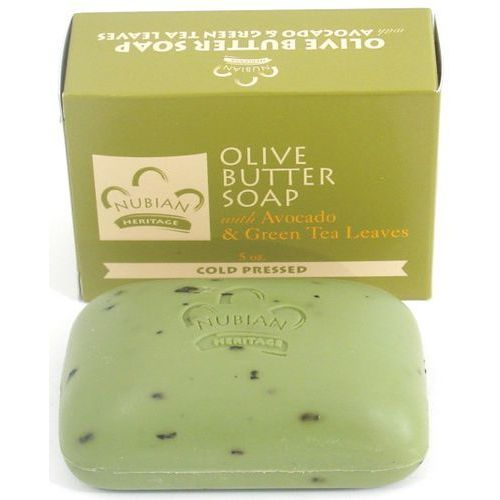 Nubian heritage Olive butter & green tea soap - mydło