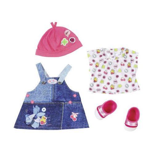 Zapf Baby born ubranka jeansowe deluxe (4001167824498)