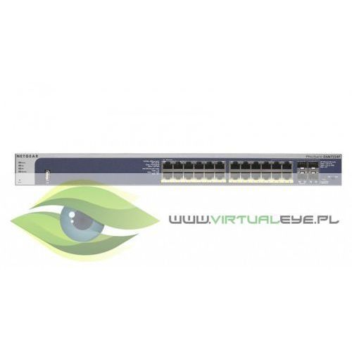 Switch M4100 Managed 24xGE 4xSFP (24xPoE+) - GSM7224P, 1_290057