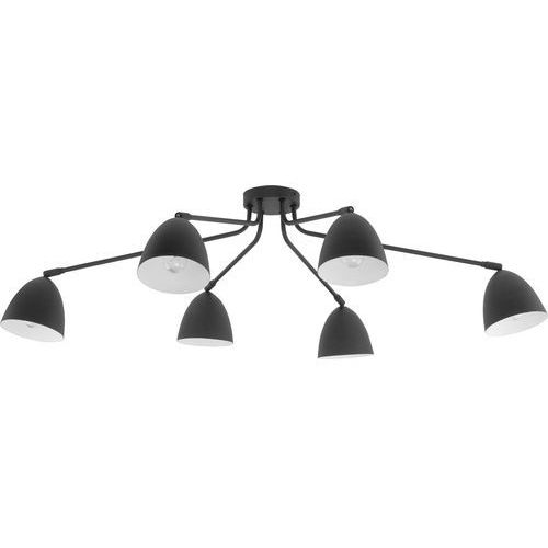 Lampa sufitowa loretta 6x60w czarny marki Tk lighting