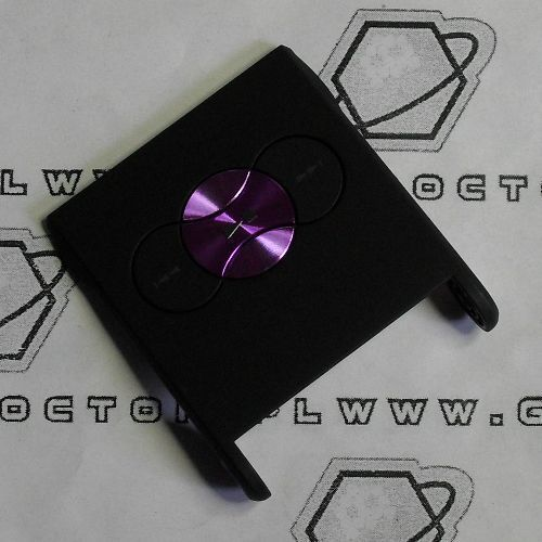Obudowa w350i przednia klapka czarna fioletowe klawisze marki Sony ericsson