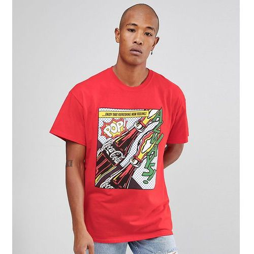 Reclaimed Vintage Inspired x Coca Cola Oversized T-Shirt With Print - Red