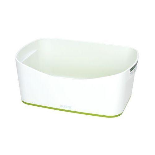 Pojemnik bez pokrywki biało/zielony mybox leitz marki Esselte