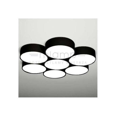Shilo Sufitowa lampa plafon zama 1134/led/cz  natynkowa oprawa led 105w czarna