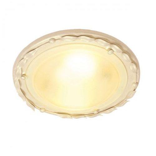 Olivia ivory/gold plafon ov/f iv/gold 30cm kremowy-złoty marki Elstead