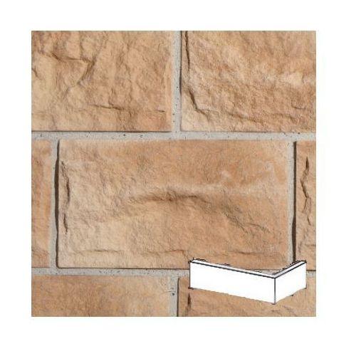 kamień dekoracyjny płytka kątowa roma 1 desert 9,8x23x16 opk. 1,19mb marki Stegu