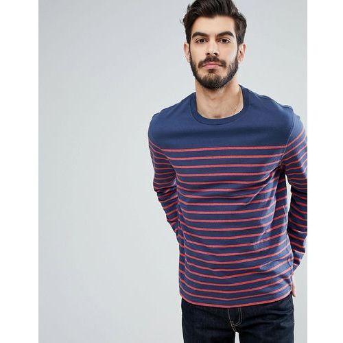 Levi's Stripe Long Sleeve T-Shirt - White, kolor biały