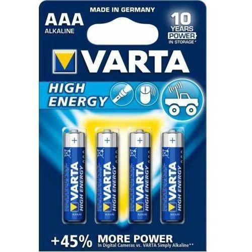 Varta 4 x  high energy lr03 aaa (blister)