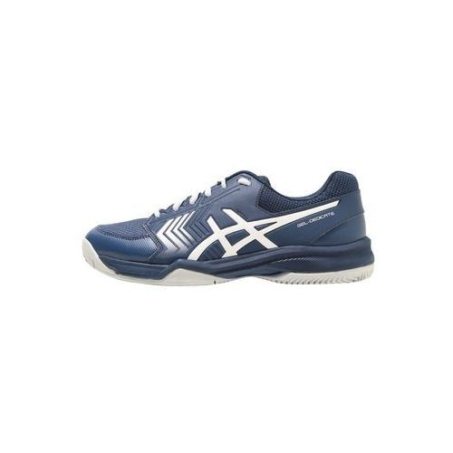 ASICS GEL DEDICATE 5 CLAY Obuwie do tenisa Outdoor dark blue/silver/white, E708Y