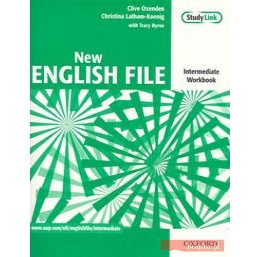 New English File Intermediate Workbook + płyta CD