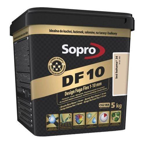 Fuga szeroka flex df10 design 34 beż bahama 5 kg marki Sopro