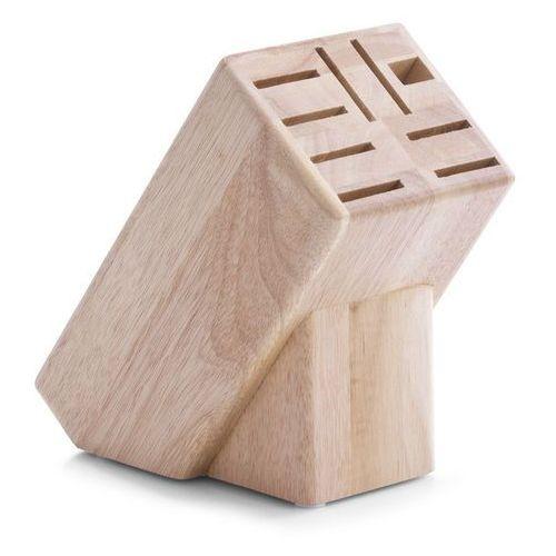 Drewniany stojak na noże, blok do noży - 25x22x13cm, ZELLER, B00177Y7ZE