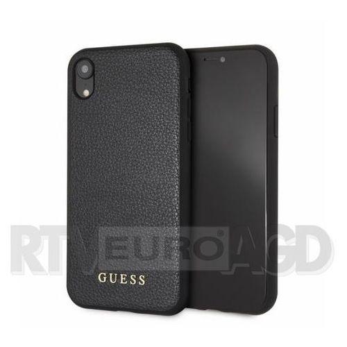 Guess GUHCI61IGLBK iPhone Xr (czarny), kolor czarny