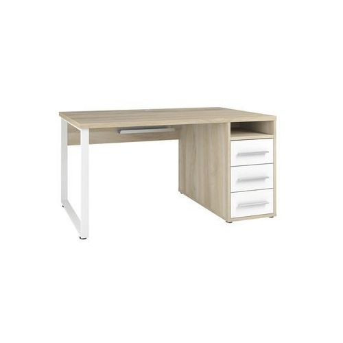 Maja-möbel Biurko set+ 150x70 cm, naturalny-biały, mdf, 16752446