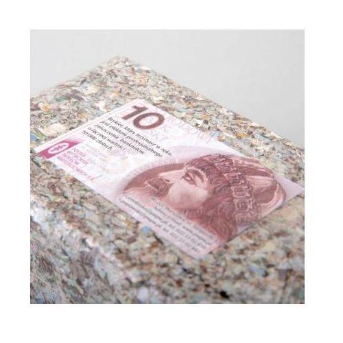 Brykiet z pieniędzy 10zł