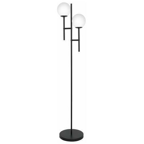 Luminex caldas 3128 lampa stojąca podłogowa 2x60w e27 czarna/biała (5907565931280)