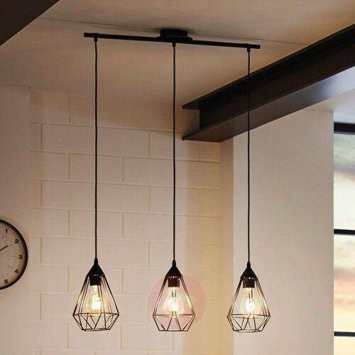 Tarbes – 3-punktowa lampa wisząca w stylu vintage marki Eglo