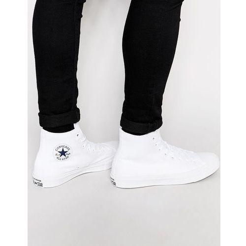 Converse Chuck Taylor All Star II Hi-Top Plimsolls In White 150148C - White